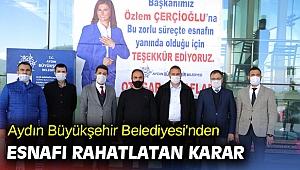 Esnaftan 'Kara gün dostu Özlem Çerçioğlu'na teşekkür