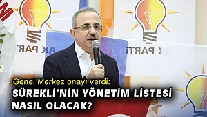 Genel Merkez onayı verdi: Sürekli'nin yönetim listesi nasıl olacak?