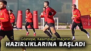 Göztepe, Kasımpaşa maçının hazırlıklarına başladı
