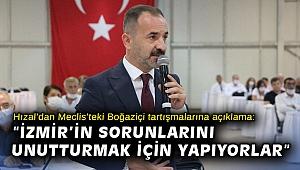 Hızal'dan Meclis'teki Boğaziçi tartışmalarına açıklama: