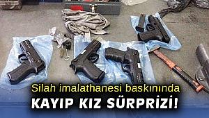 İzmir'de 5 aydır aranan genç, kız silah imalathanesi baskınında bulundu