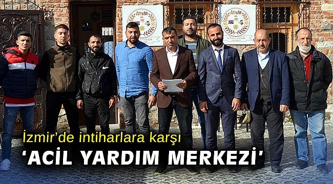 İzmir'de intiharlara karşı 'Acil Yardım Merkezi'