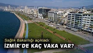 İzmir'de kaç koronavirüs vakası var?