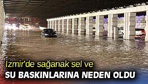 İzmir'de sağanak toplu taşımayı da etkiledi! Seferlerde aksamalar yaşanıyor