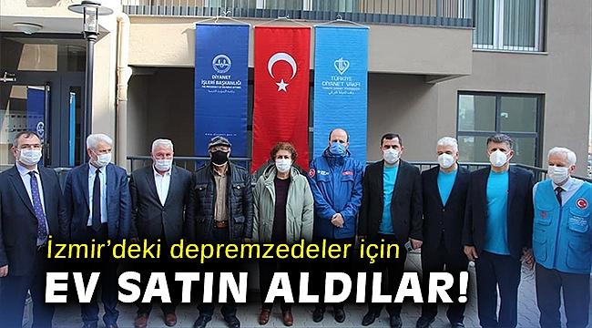 İzmir'deki depremzedeler için ev satın aldılar