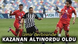 İzmir derbisinde kazanan Altınordu oldu