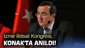 İzmir İktisat Kongresi, Konak'ta anıldı!