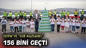 """İzmir'in """"süt kuzuları"""" 156 bini geçti"""