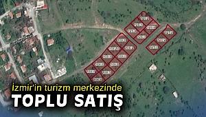 İzmir'in turizm merkezinde toplu satış