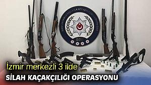 İzmir merkezli 3 ilde silah kaçakçılığı operasyonu