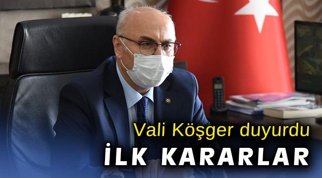 İzmir Valiliği ilk kararları açıkladı... Yüz yüze eğitim başlıyor...