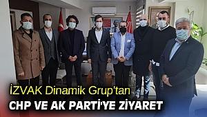 İZVAK Dinamik Grup'tan CHP ve AK Parti'ye ziyaret