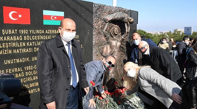 Karabağlar'da Hocalı anması: 29 yıl önce katledilenler unutulmadı