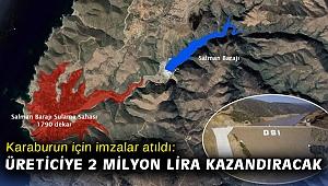 Karaburun için imzalar atıldı: Üreticiye 2 milyon lira kazandıracak