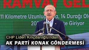 Kılıçdaroğlu'ndan AK Parti Konak göndermesi