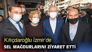 Kılıçdaroğlu'ndan İzmir'de sel mağdurlarına ziyaret!