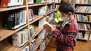 Kuşadası çocuk kütüphanesi açıldı!
