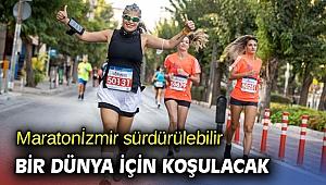 Maratonİzmir sürdürülebilir bir dünya için koşulacak