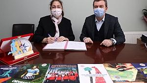 Oryantiring 2. Kademe Şampiyonası için Bergama'da protokol imzalandı