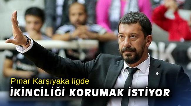 Pınar Karşıyaka ligde ikinciliği korumak istiyor