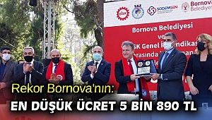 Rekor Bornova'nın: En düşük ücret 5 bin 890 TL