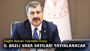 Sağlık Bakanı Koca: İl bazlı vaka sayıları yayınlanacak