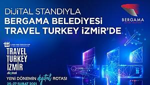 Türkiye'nin ilk sanal fuarında Bergama yerini aldı