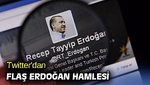 Twitter'dan flaş Erdoğan hamlesi