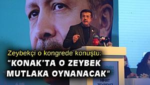 Zeybekçi o kongrede konuştu: