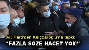 AK Parti'den Kılıçdaroğlu'na tepki: