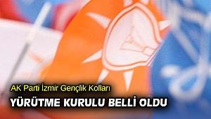 AK Parti İzmir Gençlik Kolları Yürütme Kurulu belli oldu