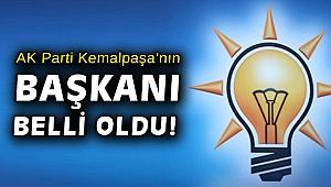AK Parti Kemalpaşa'ya atanan isim belli oldu!