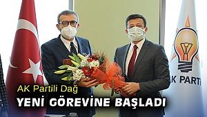 AK Partili Dağ yeni görevine başladı