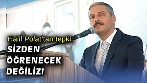 AK Partili Polat'tan Bayraklı meclisinde yaşanan gerginlik açıklaması