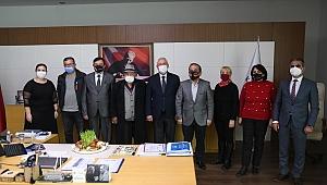 Başkan Selvitopu'na Nevruz ziyareti
