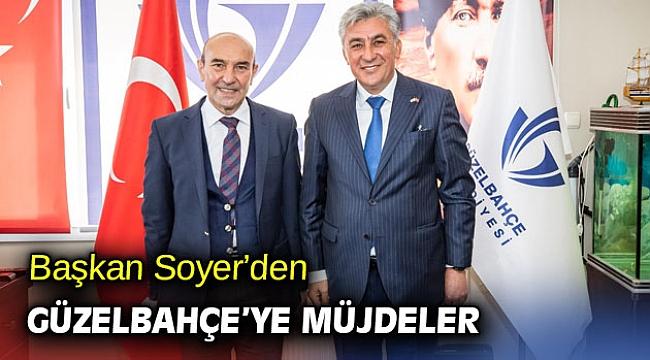 """Başkan Soyer'den Güzelbahçe'ye müjdeler: """"Güzel projelerimiz var"""""""