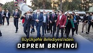 Başkan Soyer TBMM Deprem Araştırma Komisyonu heyetini ağırladı