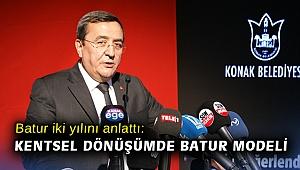 Batur iki yılını anlattı: Kentsel dönüşümde Batur modeli