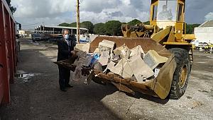 Bergama Belediyesi'nden elektronik atıkları toplama hizmeti
