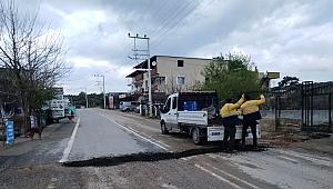 Buca Belediyesi, yollarda tadilat çalışmalarına hız verdi!