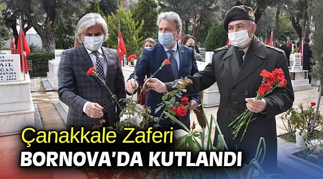Çanakkale Zaferi Bornova'da kutlandı