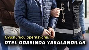 Çeşme'de uyuşturucu operasyonunda yakalanan 2 kişi tutuklandı