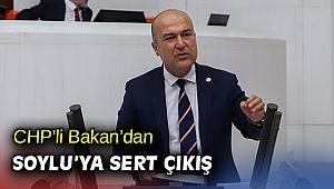 CHP'li Bakan'dan Soylu'ya sert çıkış
