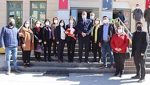 CHP'li Nazlıaka'dan Başkan Duran'a ziyaret