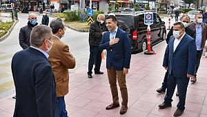 CHP'li vekillerden Başkan Günel'e teşekkür ziyareti