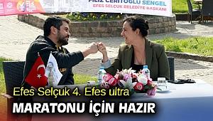 Efes Selçuk 4. Efes ultra maratonu için hazır