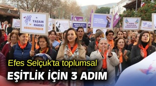 Efes Selçuk'ta toplumsal eşitlik için 3 adım