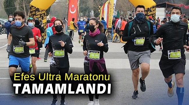 Efes Ultra Maratonu bugünkü iki koşuyla tamamlandı