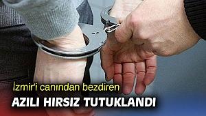 İzmir'de 13 yaşındaki hırsız tutuklandı