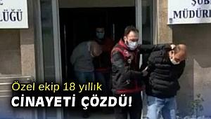 İzmir'de 18 yıl önce işlenen cinayetle ilgili 2 kişi tutuklandı